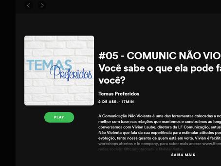 Podcast sobre Comunicação Não Violenta