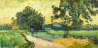 3-landscape-at-twilight-vincent-van-gogh