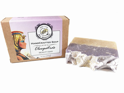 Cleopatra's Beauty Bar - Handcrafted Cold Process Soap