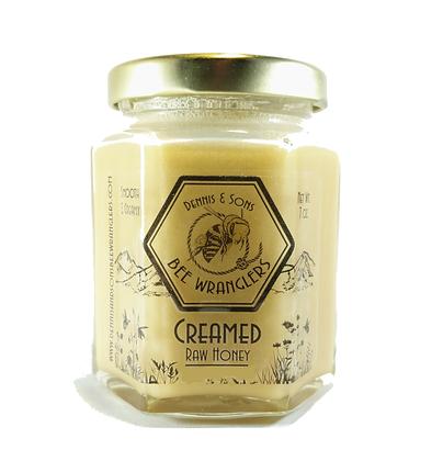 Raw Creamed Honey - Natural - 8 oz.
