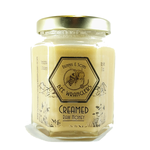 Raw Creamed Honey - Natural - 8 oz.