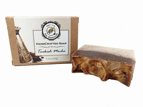 Turkish Mocha - Handcrafted Cold Process Soap