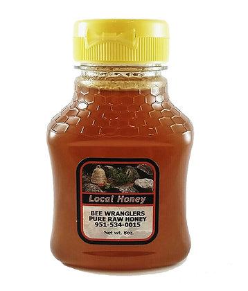 Pure & Natural Raw Honey - 8oz (Light/Medium Color)