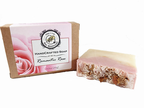 Romantic Rose - Handcrafted Cold Process Soap