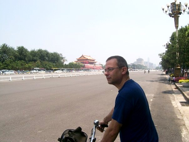 Riding free on Chang'An Avenue