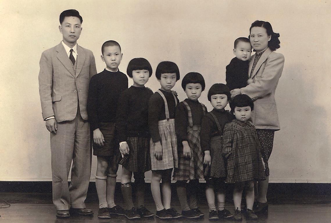 Chen's family shot