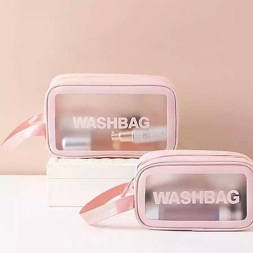 Travel size waterproof wash bag