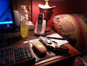 """As a Writer, it's essential to have all your tools handy...( I know, very """"Hemingway"""""""