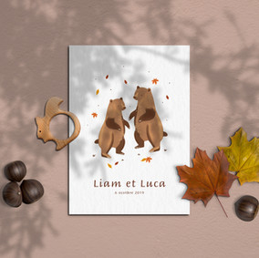 OURS AUTOMNE
