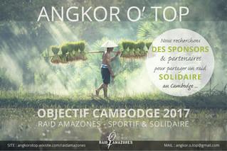 PARTENAIRE DE ANGKOR O'TOP         Raid Amazones au Cambodge