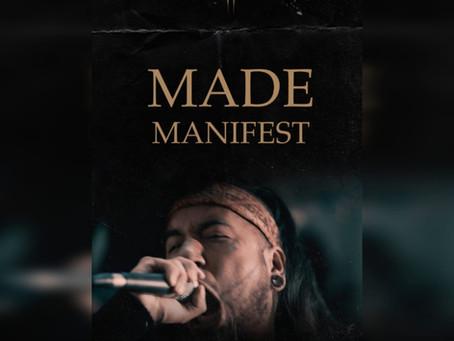 MADE MANIFEST (FT. AWKA MONDAKA) RELEASES NEXT FRIDAY, FEBRUARY 5TH