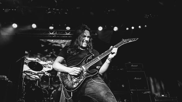 Overtoun Band Metal Matias Bahamondes Live