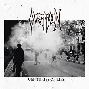 OVERTOUN Centuries Of Lies Album Cover