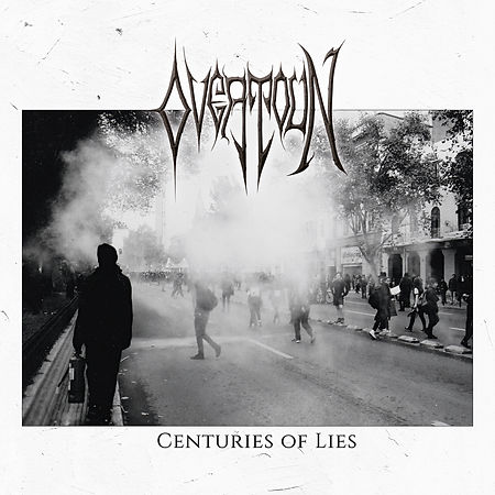 OVERTOUN - Centuries Of Lies - Portada a