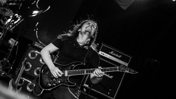 Overtoun Band Metal Matias Bahamondes Guitar ESP