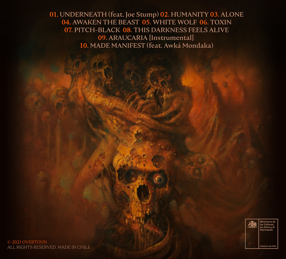 Overtoun This Darkness Feels Alive paolo girardi painting tracklist