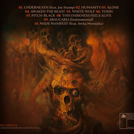 THIS DARKNESS FEELS ALIVE: OFFICIAL TRACKLIST