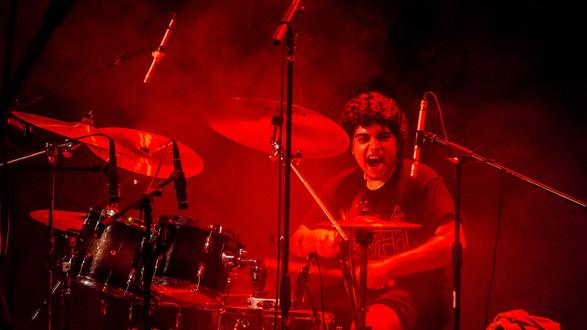 Overtoun Band Metal Agustin Lobo Drums