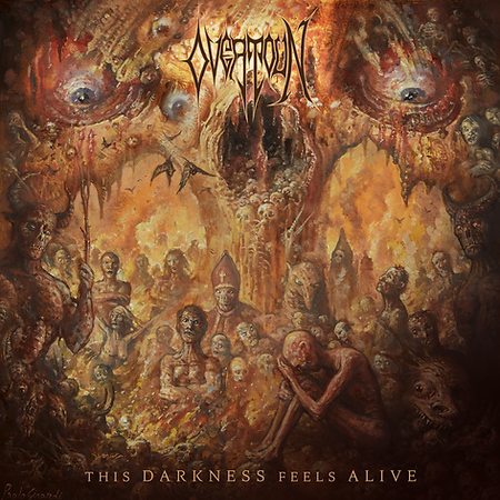 OVERTOUN This Darkness Feels Alive Album Cover