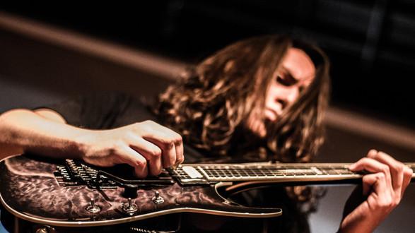 Overtoun Band Metal Matias Bahamondes Guitar