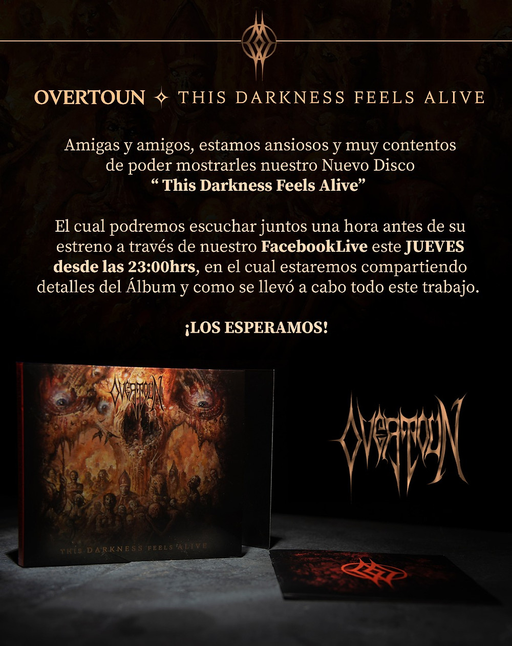Overtoun This Darkness Feels Alive Release