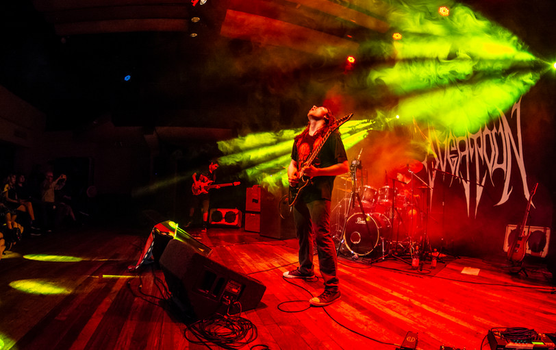 Overtoun Metal Band Live Sala Master