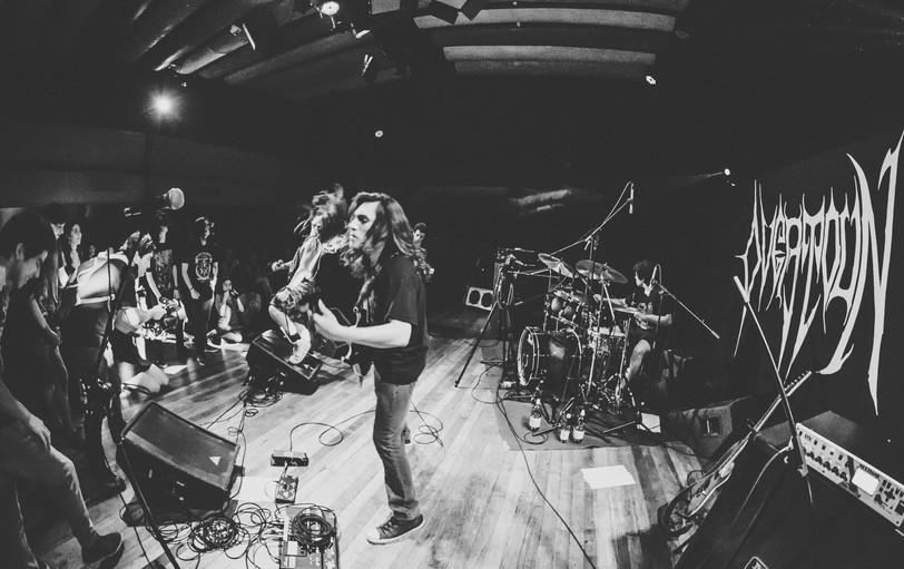 Overtoun Metal Band Live