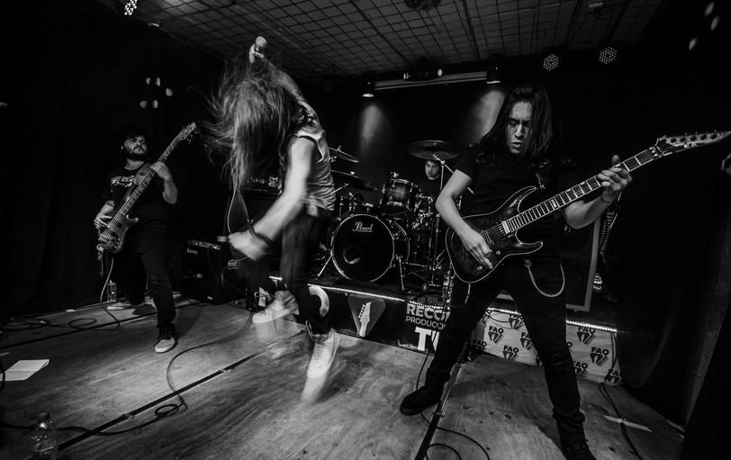 Overtoun Metal Band Live FAQ Records