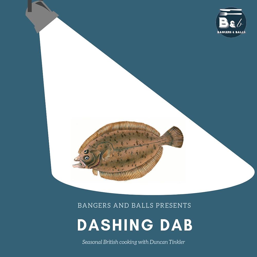 dab, fish, sustainable fish, seasonal