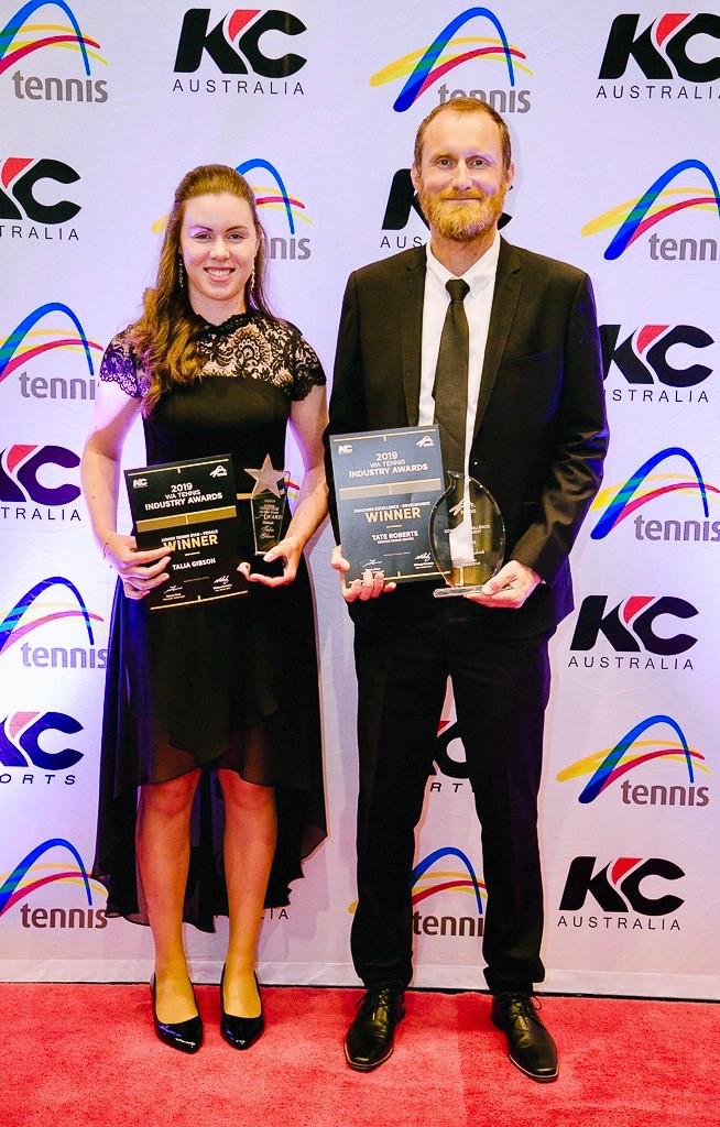 Tate wins Coaching Award, Talia wins Player Award