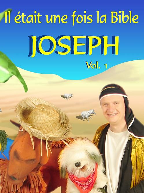 DVD Les aventures de Joseph Vol.1