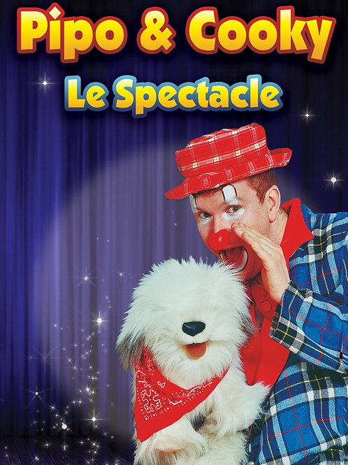 DVD Pipo et Cooky le spectacle