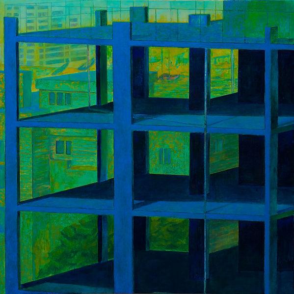 Kirk Daniel Palmer, painting, impedient