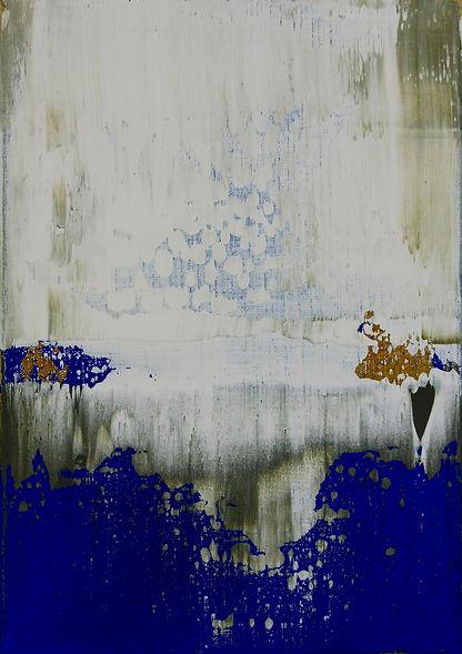 Kirk Palmer, oil painting, Blur