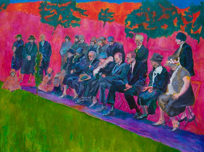 Kirk Daniel Palmer, painting, funeral