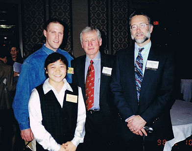 Conn and Takako at the World Tiger Congress, Dallas 1998