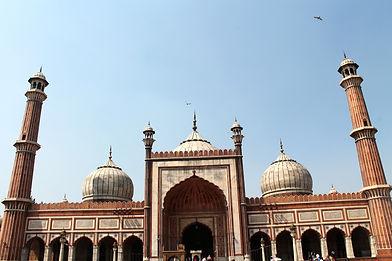 Jama Masjid mosque in Old Delhi, India
