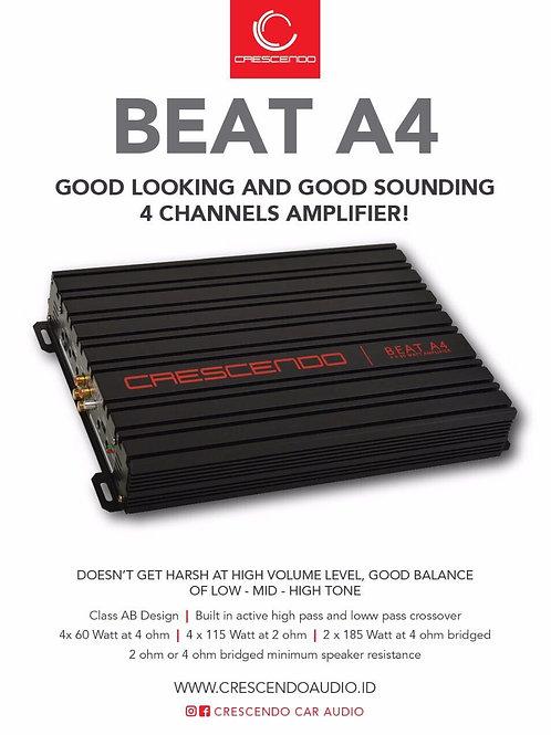 Crescendo Beat A4