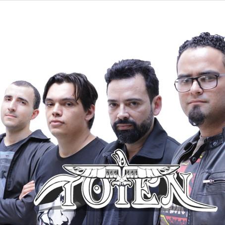 Toten: conozca más sobre el trabajo de una de las principales bandas de Heavy Metal de Goiânia