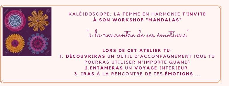 Atelier Mandalas , Kaléidoscope : La Femme En Harmonie