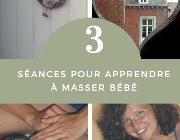Atelier-Massage bébé en 3 séances