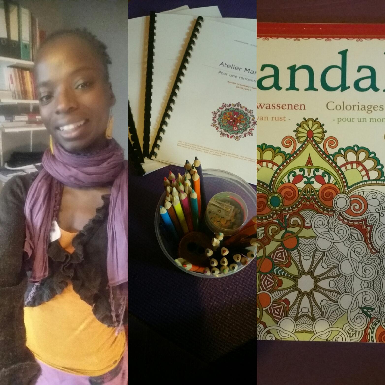 Karidja I Atelier Mandalas I Blégny
