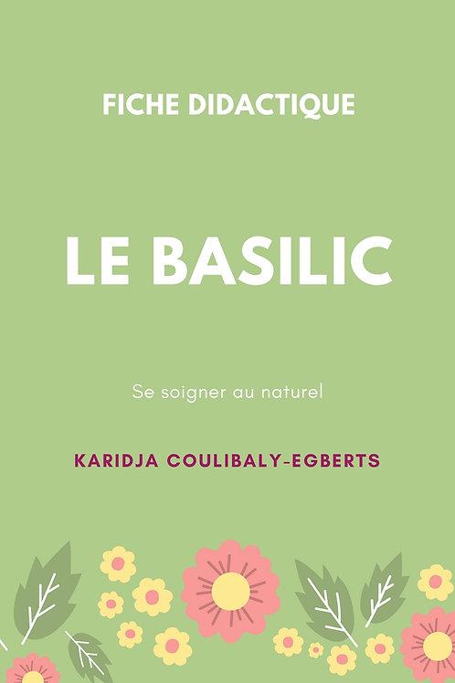 Fiche: Le Basilic - Se soigner au naturel