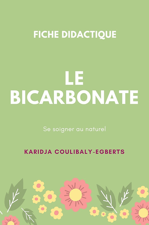 Fiche: Le Bicarbonate - Se soigner au naturel