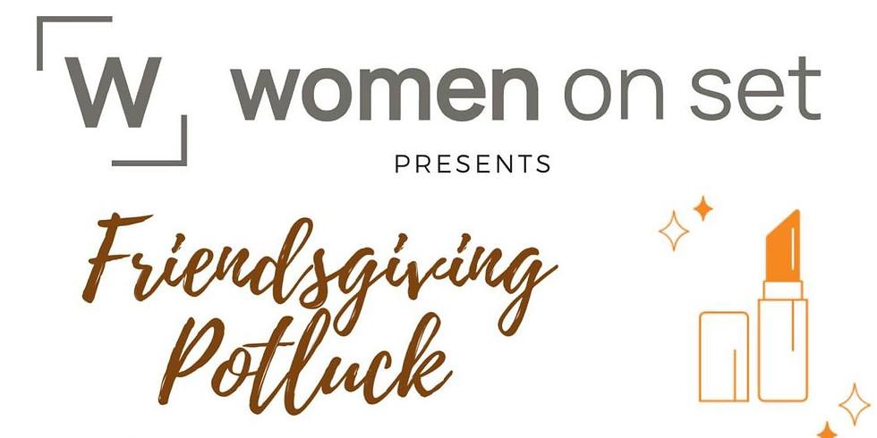 #WOMENONSET  FriendsGiving Potluck  Mini Holiday Makeup Tutorial by Evy Edelman