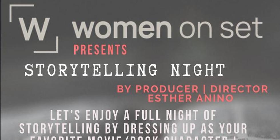 #WOMENONSET :  STORYTELLING NIGHT
