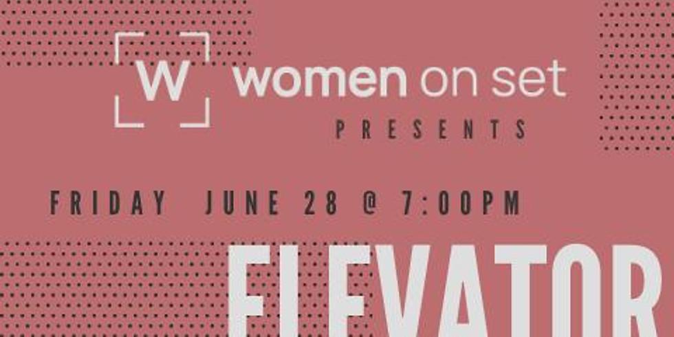 #WOMENONSET: Elevator Pitch  Branding yourself