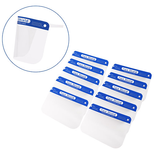 Face Shield - 10 Pack