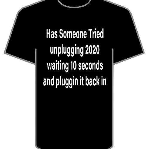 Unplugging 2020