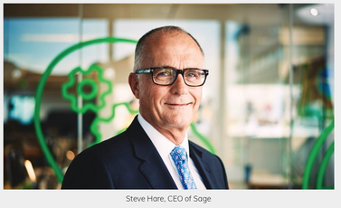 Corporate philanthropy blog by Steve Hare, CEO, Sage